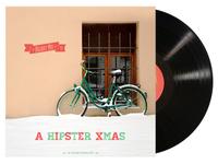 """""""A Hipster Xmas"""" Album Cover"""
