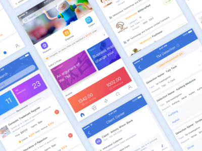 A SaaS project UI search service reports saas todolist