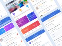 A SaaS project UI