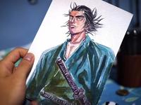 バガボンド Bagabondo Miyamoto Musashi