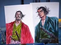 バガボンド Miyamoto Musashi  Hon'iden Matahachi