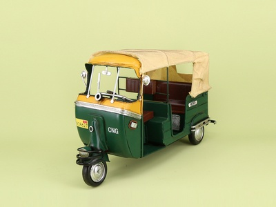 Tricycle car