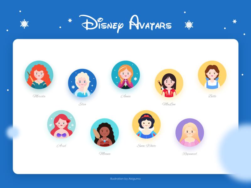 Disney avatars
