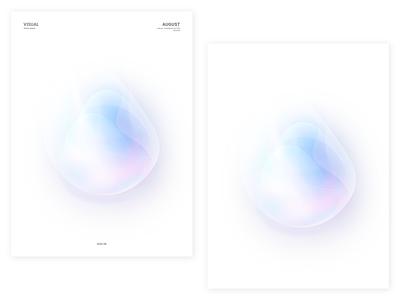 Hello August   06 graphicdesign visualdesign bubbles fantasy psychedelic