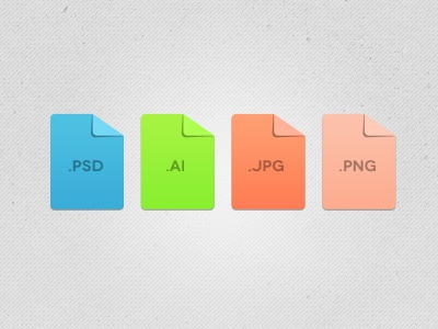 Paper Fold Concept fold concept paper curl icon colorful file psd freebies