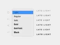 Fonts Presentation