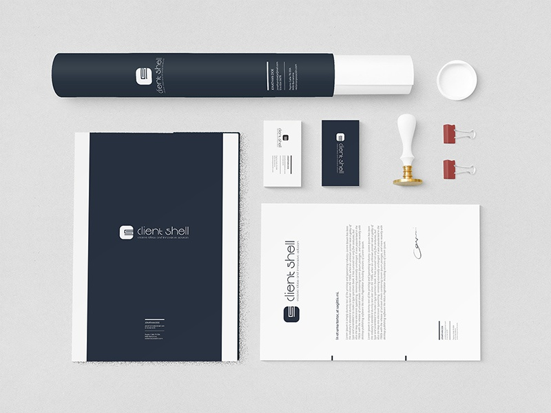 Clientshell branding by fhokestudio