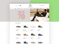 Kudz footwear Landing Pages