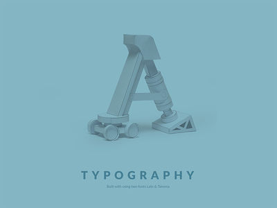 Typography Guidelines 3d a fhokestudio graphicarts fonts fontstyle font typeface guideline typo type typography