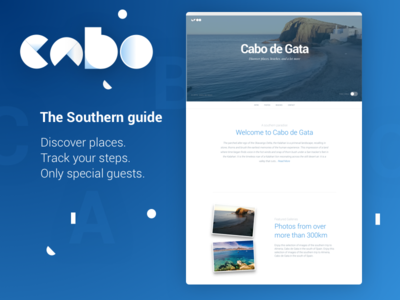 Cabo brand & landing page