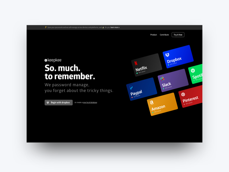 KeePass X - Now KeepKee product rebrand by Carlos March on