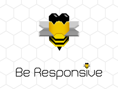 Be Responsive illustrator logo
