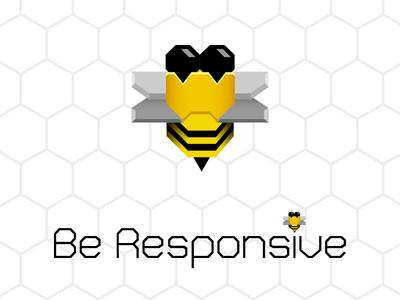 Be Responsive illustrator logo