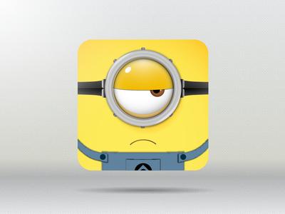 Minion Icon illustrator vector icon minion rebound yellow