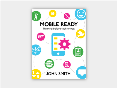 Mobile Ready Book Cover book bookcover illustrator