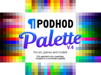 FREE Color Swatches: for digital art, games and models