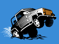 Illustration for 4x4 Offroad
