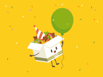 Anniversary Fast-Food Mascot