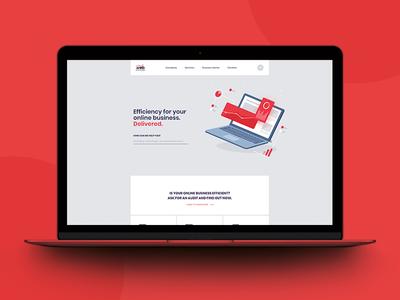 Redesign of Web Efficient's Website