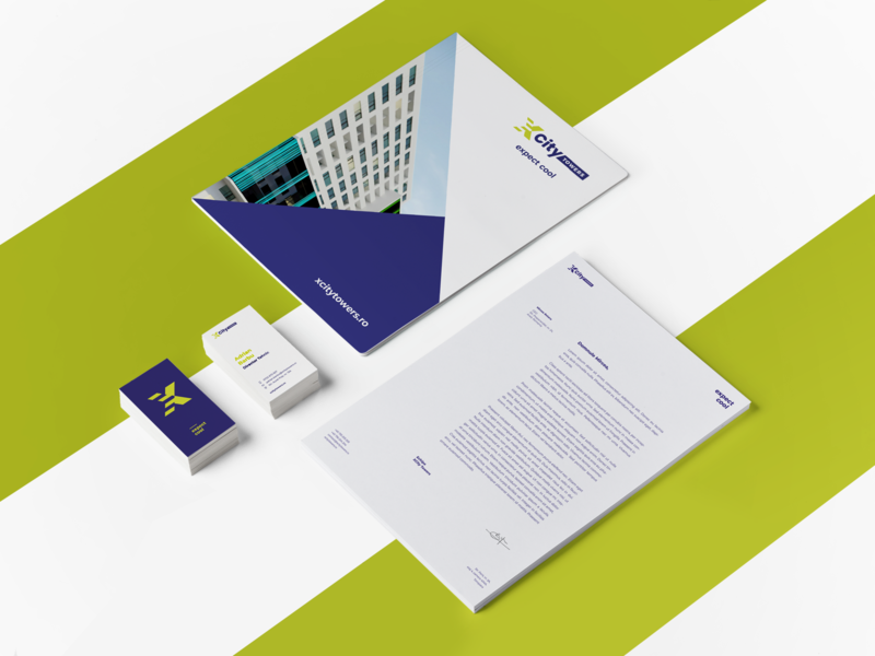 XCity Towers Stationery