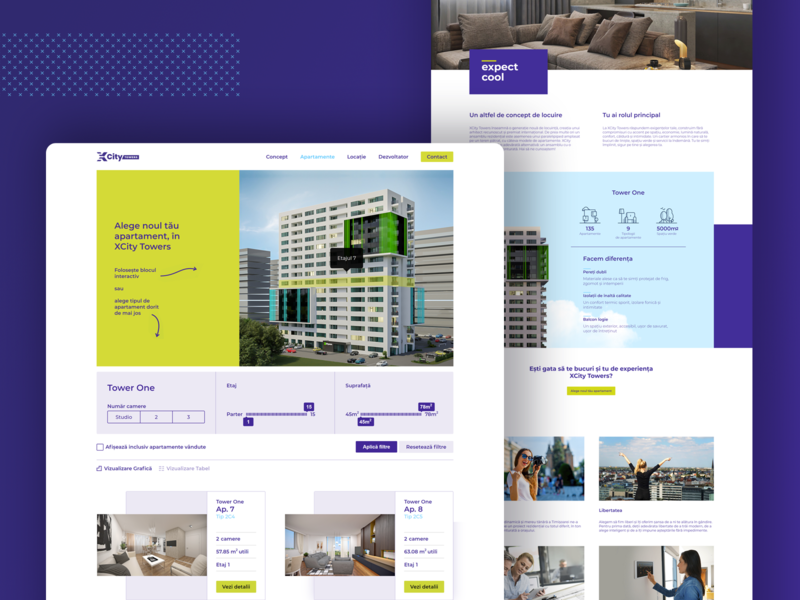 XCity Towers Website