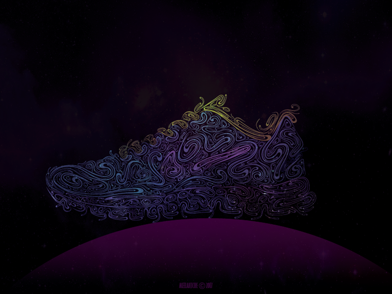 Sneaker meelantche concept footwear digital art design illustration sneaker