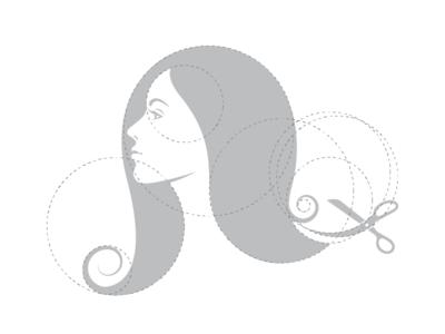 Beauty salon - logo construction