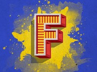 The concept of the letter F