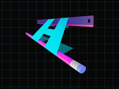The letter H concept