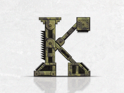 The letter K concept
