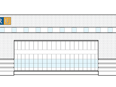 Venue Illustration  ryerson building brick line toronto podcamp