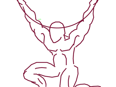 Atlas atlas greek god anatomy human line fitness