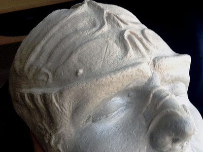 Klingon Forehead Prosthetic sculpt clay latex mask halloween klingon