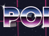 POD retrofuturism synthwave typography branding vector ontario podcast illustration logo canada toronto conference podcamp