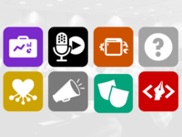 PodCamp Icons