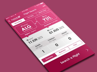 Flight App Iphone IOS 7 #V2