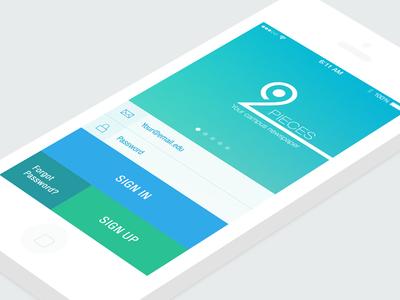 Login Screen Student App