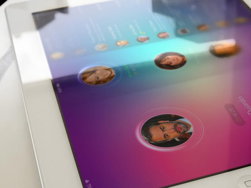 Multi Video App Ios7 multi video call app ios7 conference chat phone ipad ipad