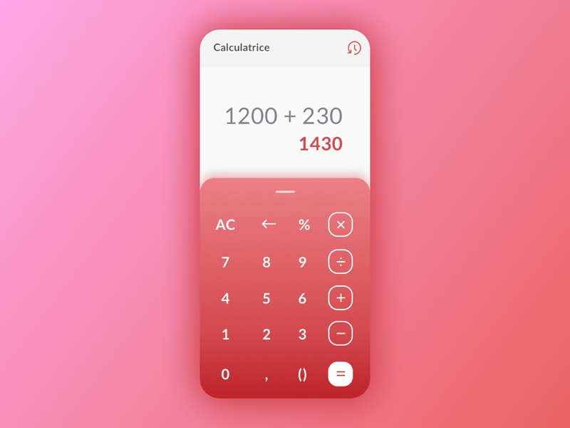 DailyUI004 iphone daily ui uiux ui design design app design calculate dailyui004 dailyui