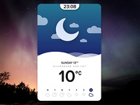 Weather app #Daily Design 04