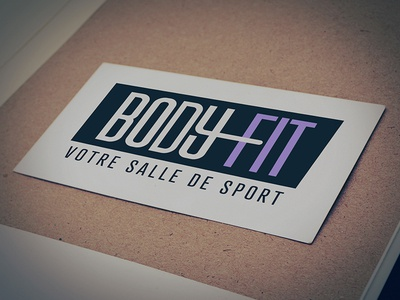 Body_Fit v2 branding illustration typography flat gym bodybuilding fitness brand logo