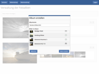 Photography Website Dashboard