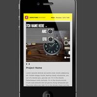Mobile Portfolio Site