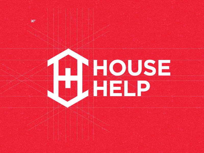 House Help Logo Design house help cross logo design plus swiss real estate mortgage loan