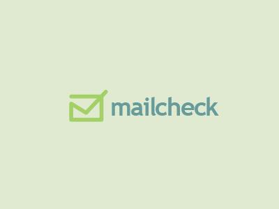 Mailcheck Logo Design mail email check mark logo icon design filter envelope