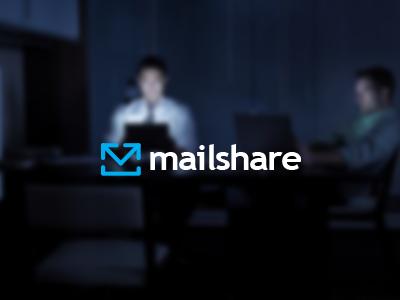 Mailshare Logo Design share social mail email send arrow logo icon design envelope