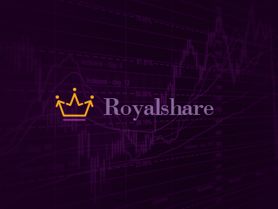 Royalstats logo design
