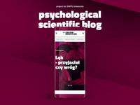 psychological scientific blog