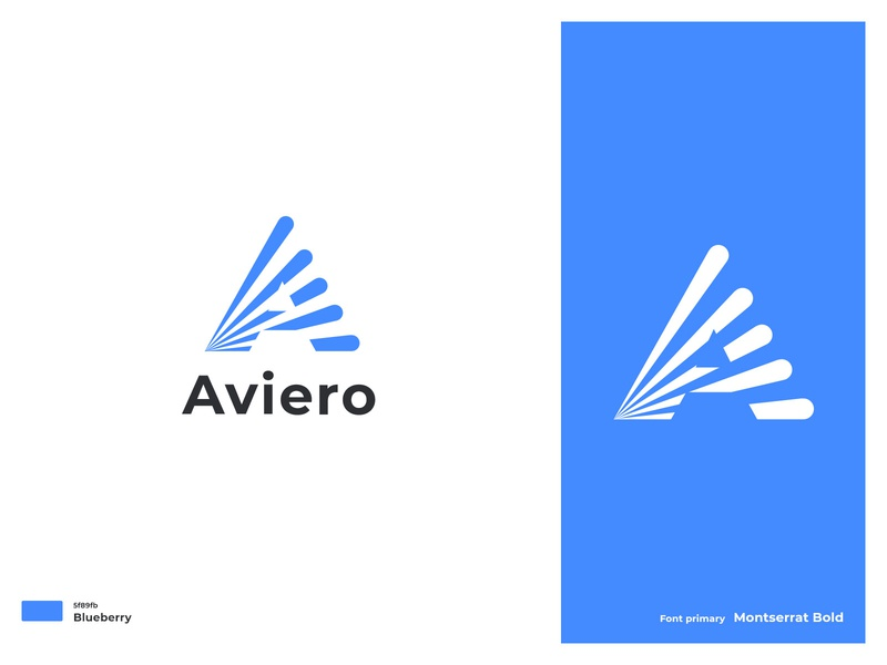 Aviero_2 branding development softwre expand raise grow exploration mark brand logo