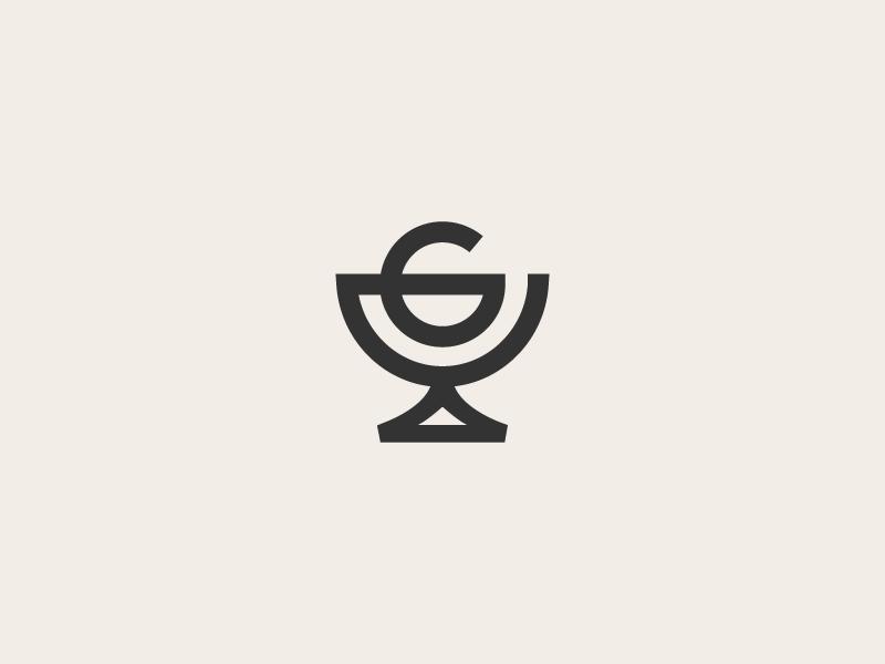 Gelato la gelato identity logo mark symbol